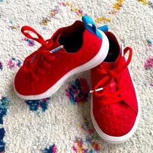 Like new little kids Native shoes
